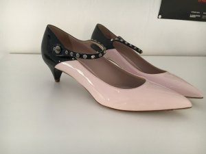Two Tone Lack-Pumps Miu Miu