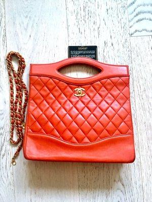 Two ways Rote Vintage Rarität Chanel Tasche