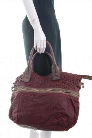 Tyoulip Sisters Carry Bag brown red-green grey casual look