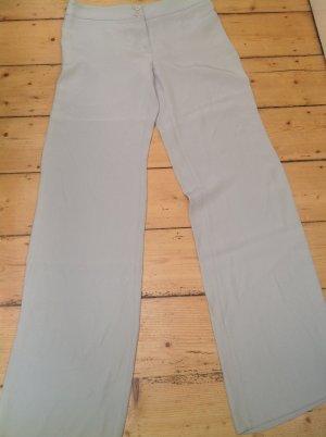 Armani Collezioni Pantalón anchos beige claro tejido mezclado