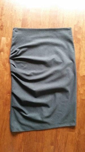 Brunello Cucinelli Asymmetry Skirt anthracite