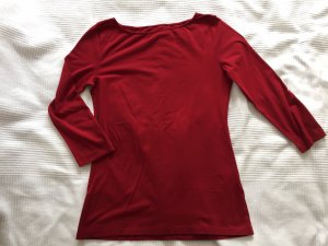 Hallhuber Boatneck Shirt bordeaux-carmine