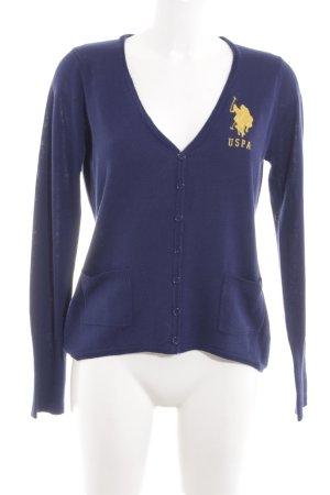 U.s. polo assn. Cardigan blau Casual-Look