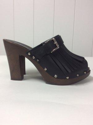 U.s. polo assn. Clog Sandals black-brown