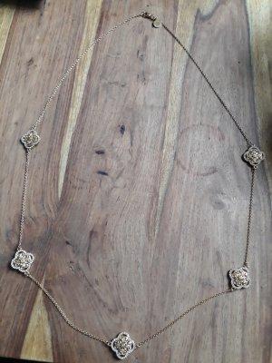 U.S. Polo Assn. Halskette goldfarben