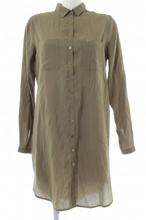 U.s. polo assn. Hemdblusenkleid khaki-goldfarben Casual-Look