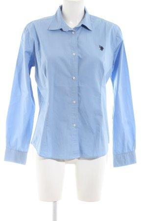 U.s. polo assn. Langarmhemd blau Business-Look