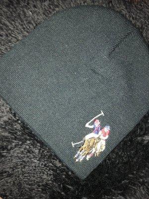 U.s. polo assn. Sombrero de punto negro