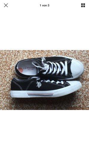 U.S. Polo Assn. Sneakers Schuhe Sportschuhe schwarz weiß 41 wie neu