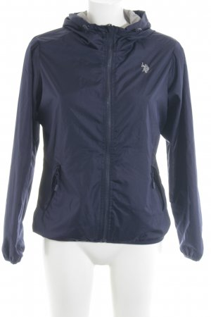 U.s. polo assn. Reversible Jacket grey-dark blue athletic style
