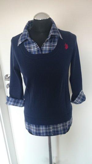 U.S. Polo Shirt blau