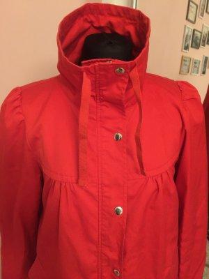 Ubergangsjacke von H&M Gr 40 rot Mantel