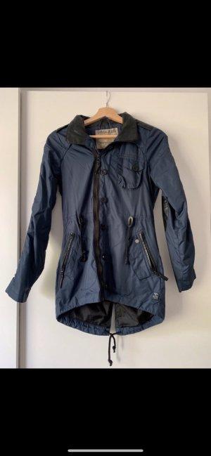 Garcia Raincoat blue