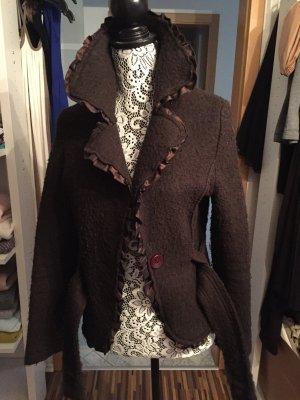 Übergangs Jacke aus Wolle
