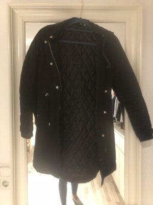 Übergangs Jacke in schwarz