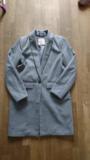Übergangs Mantel in grau