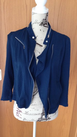 Bershka Jacket dark blue