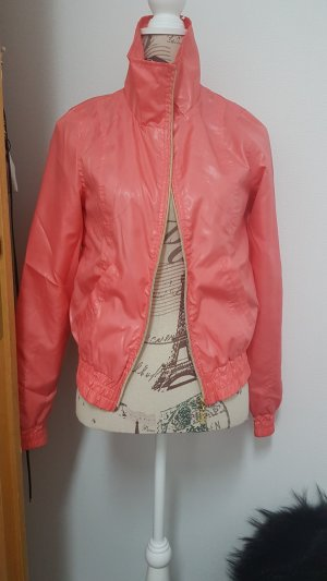 Only Waxed Jacket salmon