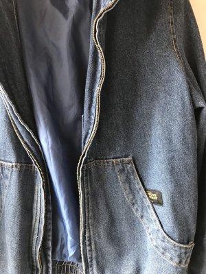 Flatbush Oversized jack blauw-korenblauw