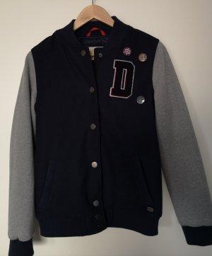 Tom Tailor Denim College Jacket grey-dark blue