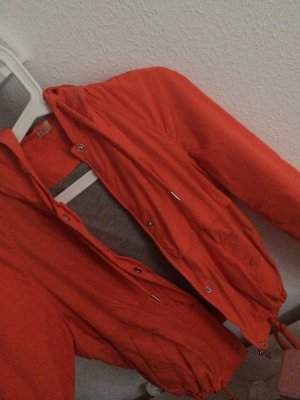 H&M Giacca mezza stagione arancio neon-grigio