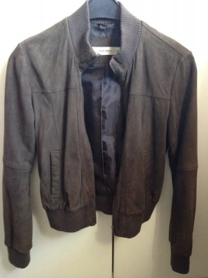 Übergangsjacke, echtes Wildleder, selten getragen!!