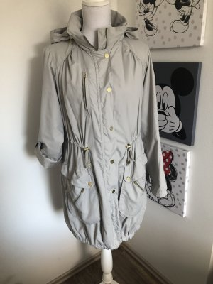 H&M Between-Seasons Jacket light grey-silver-colored
