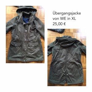 Übergangsjacke für Damen von WE in Khaki in Größe XL