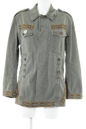 Übergangsjacke graugrün Casual-Look