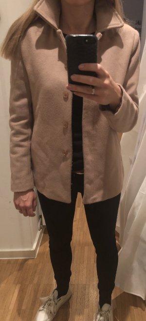 Übergangsjacke Jacke Frühling Herbst Follies Blugirl 36 S mit Strassherz beige