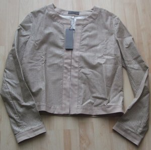 Übergangsjacke /Jacke von s.Oliver - beige - Gr. 38