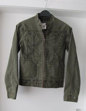 Übergangsjacke, leichte Jacke von Heinrich Nickel in khaki