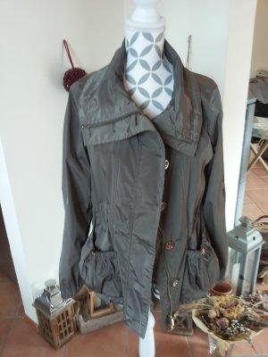 cerruti 1881 Between-Seasons Jacket grey brown-dark grey polyester