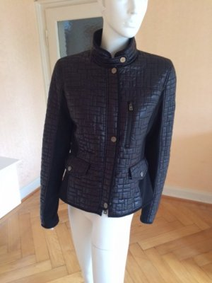 Orwell Quilted Jacket black polyamide