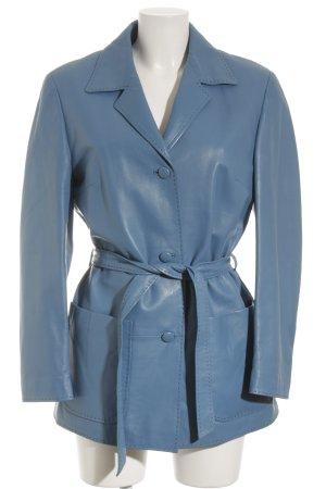 Übergangsjacke neonblau Vintage-Look