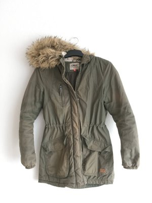 Only Parka multicolore Cotone