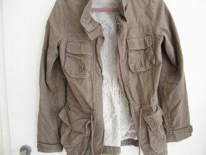 Übergangsjacke, Parka in Khaki von H&M