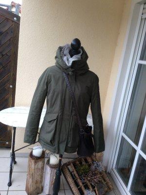 """Übergangsjacke """"Taifun"""" leger &unverzichtbar in khakifarben Gr.40… NEU mit Etikett"""