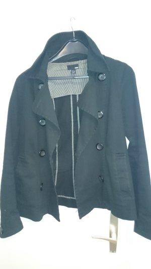 Übergangsjacke von H&M, schwarz - kaum getragen
