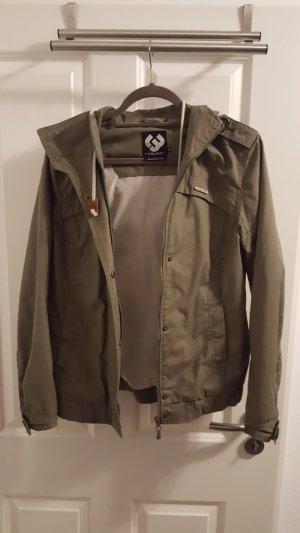 Übergangsjacke von Ragwear Olive/Khaki