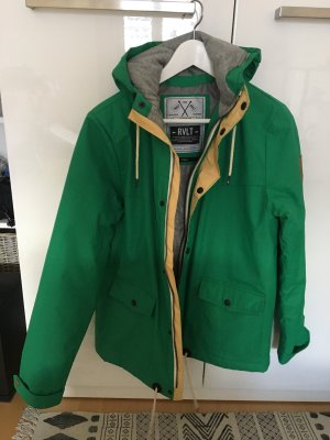 Rvlt Revolution Windbreaker green