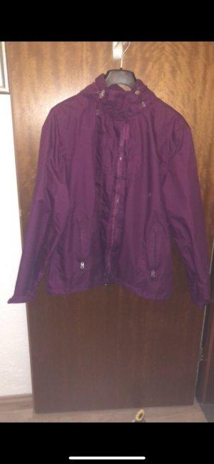 Rodeo Chubasquero violeta amarronado-burdeos