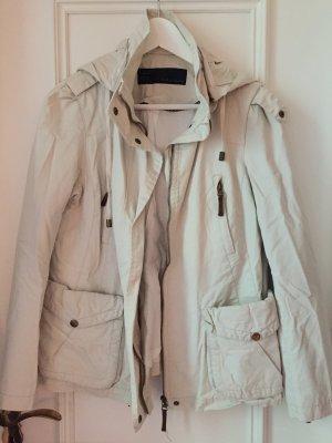 Übergangsjacke Zara mit Lederdetails