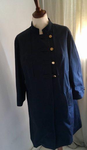 Manteau mi-saison bleu foncé-doré