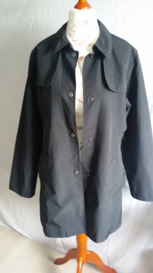 s.Oliver Short Coat black mixture fibre