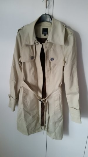C&A Trench bianco sporco-crema