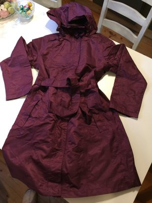 Heavy Raincoat purple-brown violet