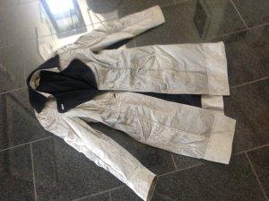 Übergangsmantel Luisa Cerano 38 M grau schwarz meliert batik look Mantel