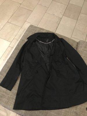 Übergangsmantel schwarz