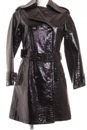 Übergangsmantel schwarz Gothic-Look
